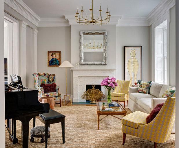 Современная классика Гостиная by Fearins | Welch Interior Design