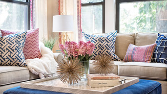 Bohemian Glam Living room
