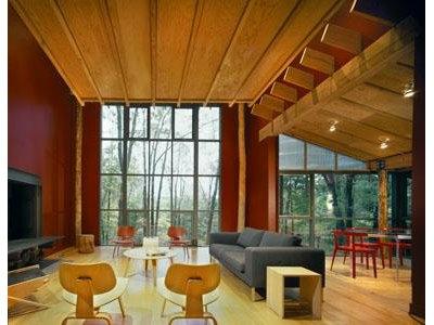 Modern Living Room Bohlin Cywinski Jackson