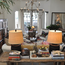 Eclectic Living Room by Bungalow Furniture