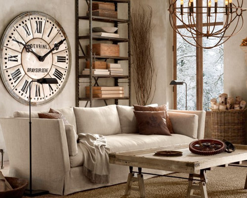 Boho chic home design ideas pictures remodel and decor for Industrial chic living room