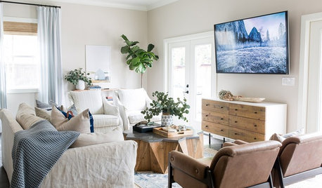 New This Week: 3 Beautiful and Calm Transitional Living Rooms