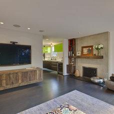 Modern Living Room Boiler Residence