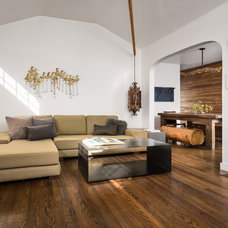 Contemporary Living Room by Hsu McCullough