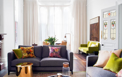 Room of the Week: An Elegant Shared Dining and Living Area