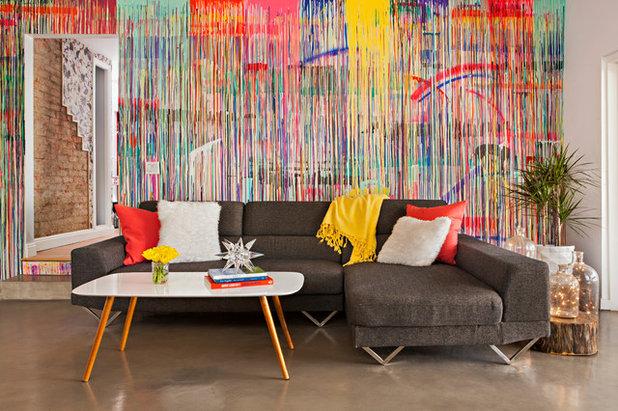 Eklektisch Wohnbereich by Color Concept Theory