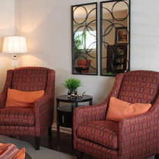 Traditional Living Room by Design To Go