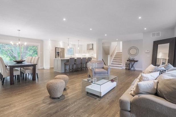 Modern Living Room by Bona US