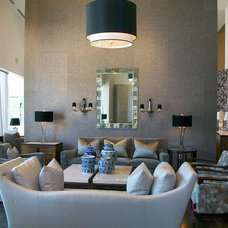 Contemporary Living Room by Donghia Dallas