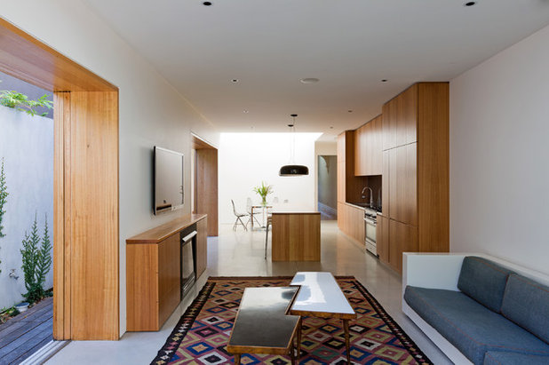 Contemporary Living Room by Fearns Studio