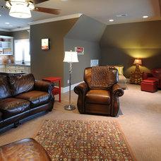 Traditional Living Room Bonus Room #2