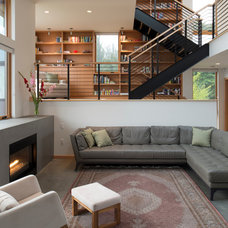 Contemporary Living Room by CAST architecture
