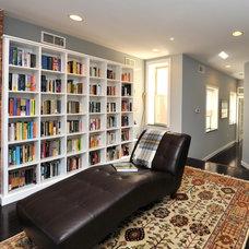 Contemporary Living Room by A-K Custom Interiors