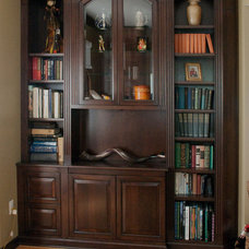traditional bookcases by A Cut Above, Inc.