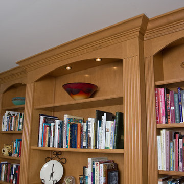 Bookcases, Libraries and Showcases
