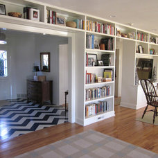 Traditional Family Room by Rock Paper Hammer