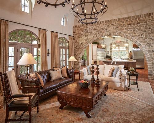 Mediterranean Living Room Design Ideas Renovations Photos