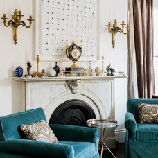 Traditional Living Room by F. D. Hodge Interiors