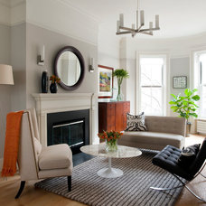 Contemporary Living Room by kelly mcguill home
