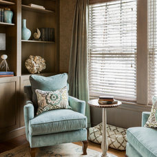 Traditional Living Room by Landry & Arcari