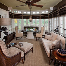 Traditional Living Room by Kathleen McGovern Studio of Interior Design