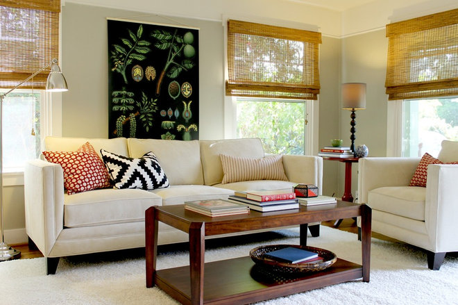 Traditional Living Room by Madison Modern Home