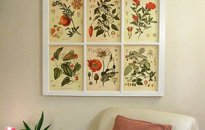 Flea Market Finds: Botanical Prints