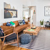 Houzz Tour: Bachelor Pad Shapes Up Quickly With Midcentury Style
