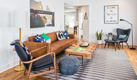 USA Houzz: A Manly Home Gets the Designer Touch