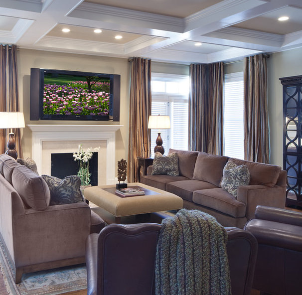 Contemporary Living Room by Bountiful
