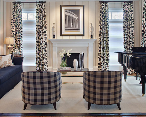 Buffalo Check Curtains Ideas, Pictures, Remodel and Decor
