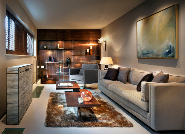 Contemporary Living Room by Zephyr Interiors