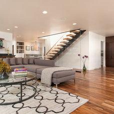 Contemporary Living Room by Hsu McCullough