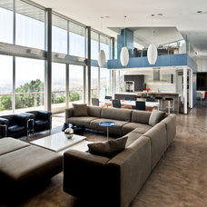 Contemporary Living Room by Chu+Gooding Architects
