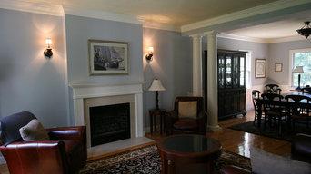Boxford Residence Living Room