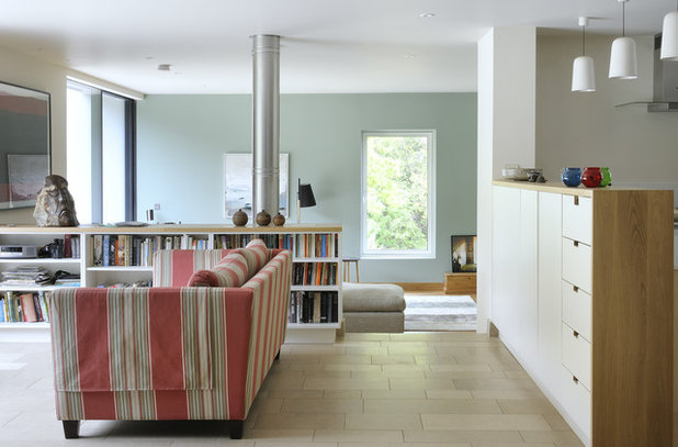 Contemporary Living Room by PAD studio