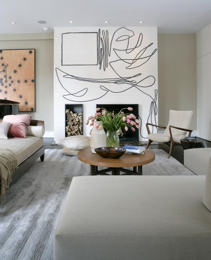 Modern Living Room by Brad Ford ID