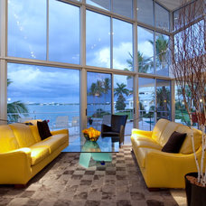 Contemporary Living Room by SRQ360 Photography