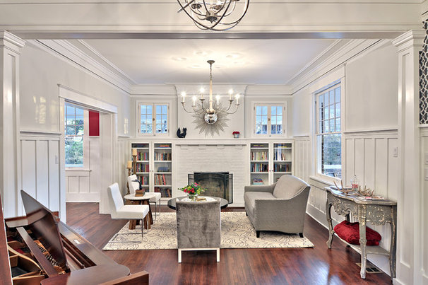Contemporary Living Room by Avenue B Development