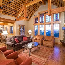 Rustic Living Room by Western Design International