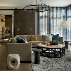 Contemporary Living Room by PROjECT interiors + Aimee Wertepny