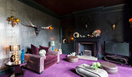 Welcome to the Dark Side: Decorating With Deep-Tone Carpets
