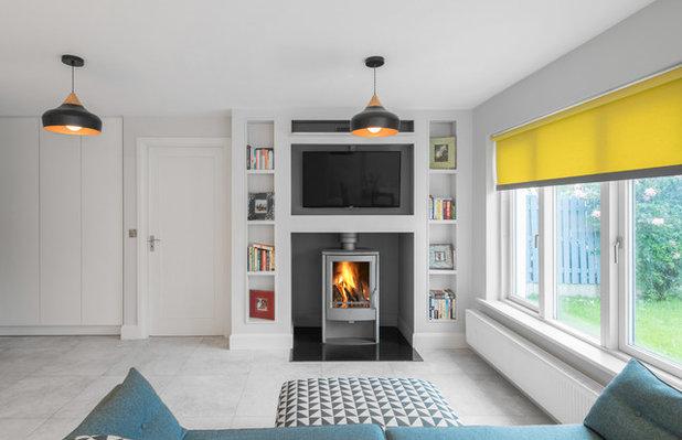Contemporary Living Room by Shomera