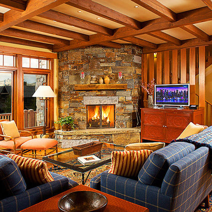 Traditional Living Room by BraytonHughes Design Studios