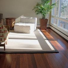Contemporary Living Room by Alexanian Carpet & Flooring
