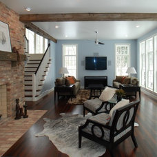 Contemporary Living Room by Ralph's Hardwood Floors