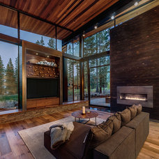Contemporary Living Room by sagemodern