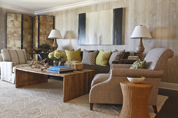 Contemporary Living Room by Phoebe Howard