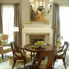 Traditional Living Room by McLaurin Interiors