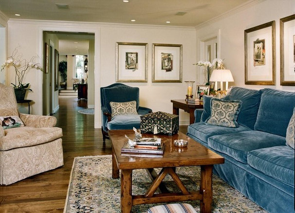 Traditional Living Room by Connie McCreight Interior Design